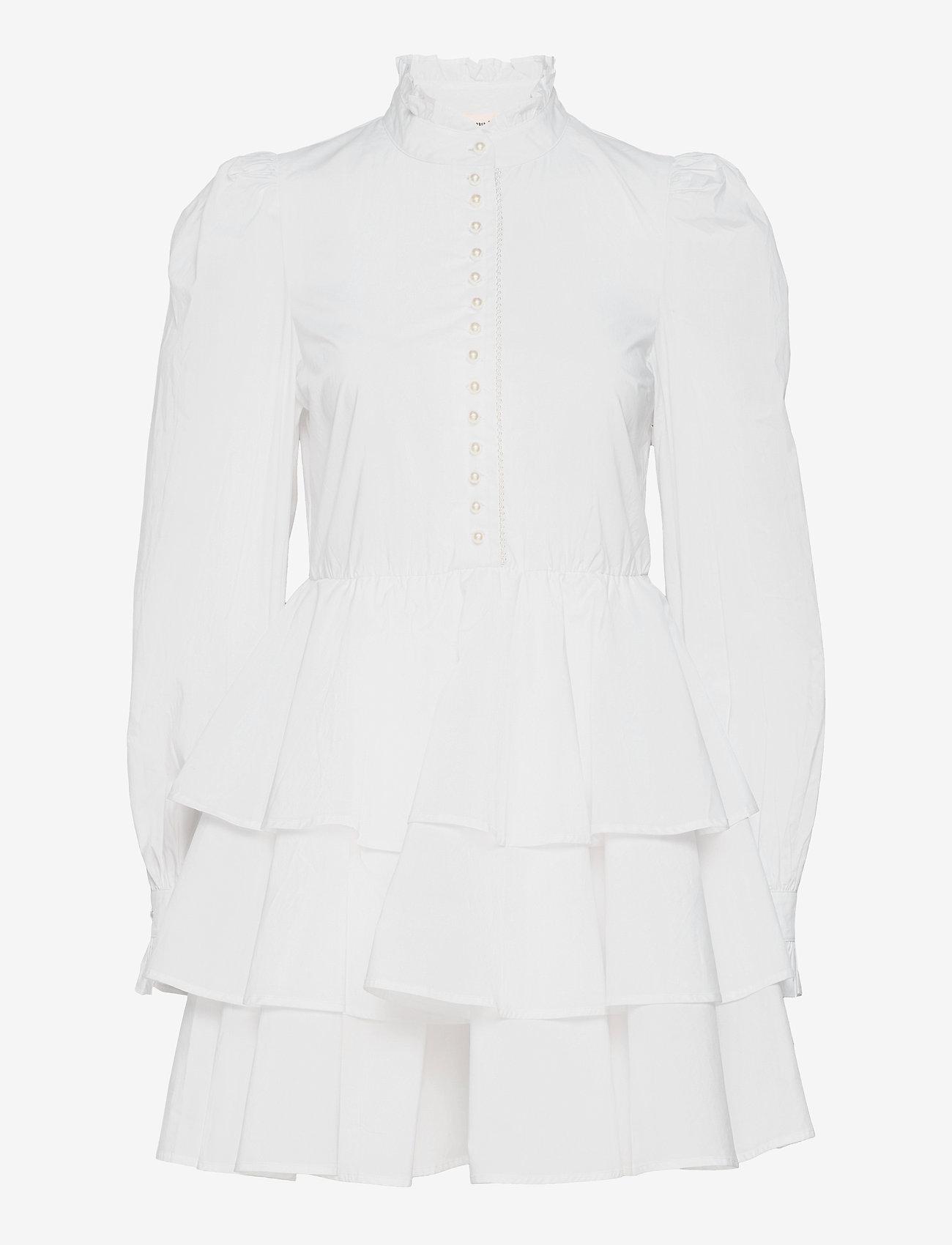 Custommade - Lydia - sommerkjoler - bright white - 0
