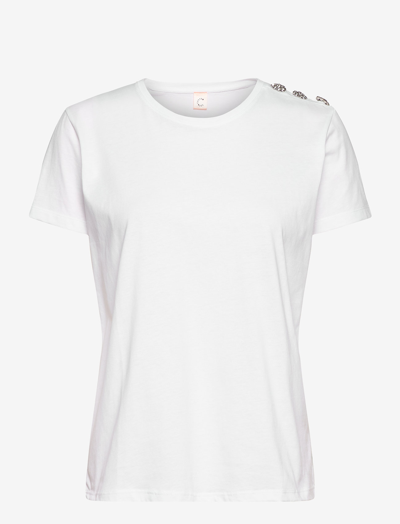 Custommade - Molly Crystal - t-shirts - white - 0