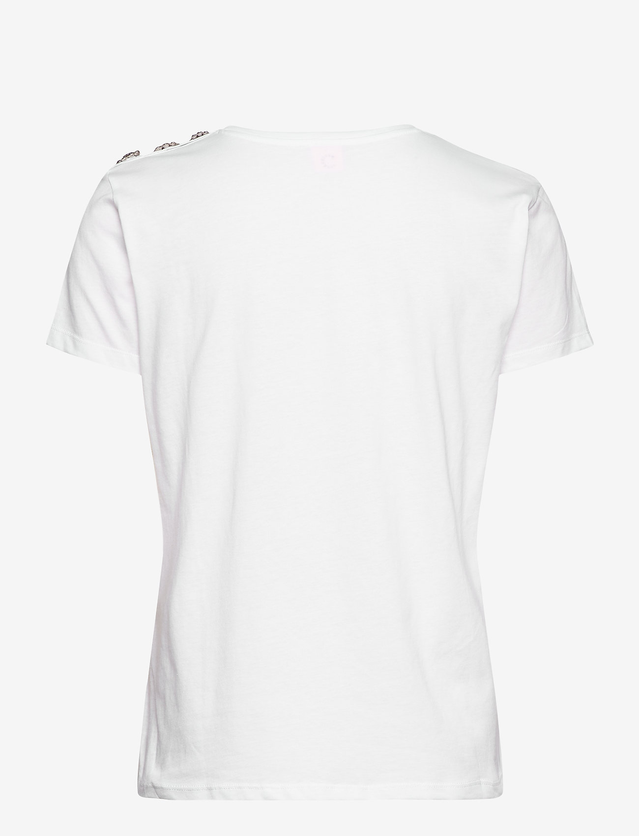 Custommade - Molly Crystal - t-shirts - white - 1