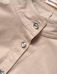 Custommade - Haniel - korta klänningar - cement - 2