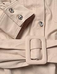 Custommade - Haniel - korta klänningar - cement - 3
