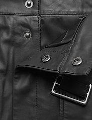Custommade - Alia - midi kjolar - anthracite black - 3