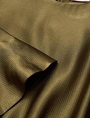 Custommade - Lissa - cocktailklänningar - dark olive - 2