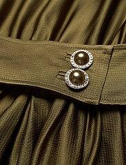 Custommade - Lissa - cocktailklänningar - dark olive - 3
