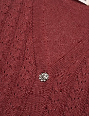 Custommade - Ellah - knitted vests - rum raisin brown - 2