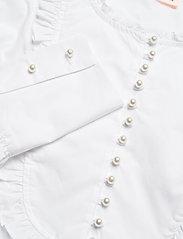Custommade - Drine - långärmade blusar - bright white - 3