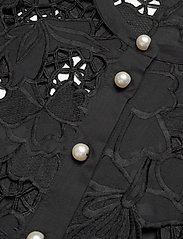 Custommade - Brina - långärmade blusar - anthracite black - 2