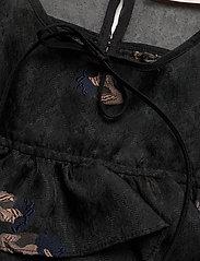 Custommade - Rinda - långärmade blusar - anthracite black - 2