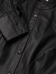 Custommade - Loulou - skjortklänningar - anthracite black - 2