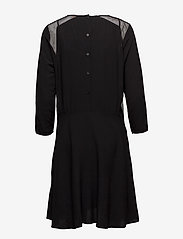 Custommade - Bahja - midiklänningar - anthracite black - 1