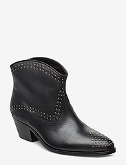 Custommade - Angel Studs - ankle boots with heel - anthracite black - 0