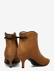 Custommade - Casie Suede - ankle boots with heel - camel - 4