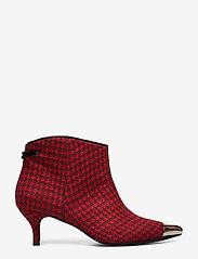 Custommade - Aniv Houndstooth - ankle boots with heel - ski patrol - 1