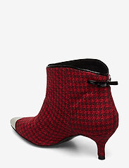Custommade - Aniv Houndstooth - ankle boots with heel - ski patrol - 2