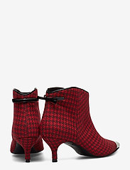 Custommade - Aniv Houndstooth - ankle boots with heel - ski patrol - 4