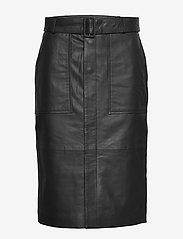 Custommade - Alia - midi kjolar - anthracite black - 0