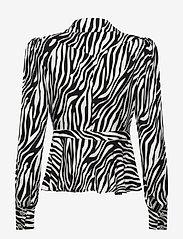 Custommade - Dakota - långärmade blusar - black/white - 1