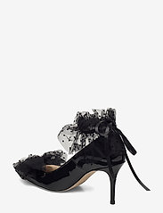 Custommade - Aljo Bow - klassieke pumps - anthracite black - 2