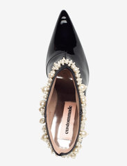 Custommade - Abbygail Pearl - enkellaarsjes met hak - anthracite black - 3