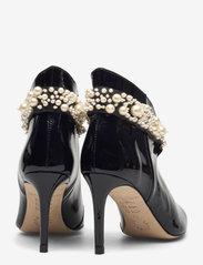 Custommade - Abbygail Pearl - enkellaarsjes met hak - anthracite black - 4