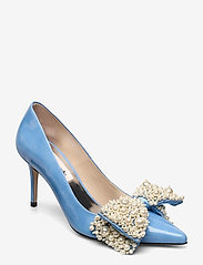 Custommade - Aljo Pearl - klassieke pumps - cool blue - 0