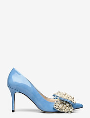 Custommade - Aljo Pearl - klassieke pumps - cool blue - 1