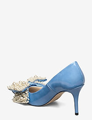 Custommade - Aljo Pearl - klassieke pumps - cool blue - 2