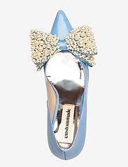Custommade - Aljo Pearl - klassieke pumps - cool blue - 3