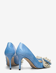 Custommade - Aljo Pearl - klassieke pumps - cool blue - 4
