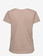 Custommade - Molly Pearl - t-shirts - fungi brown - 1