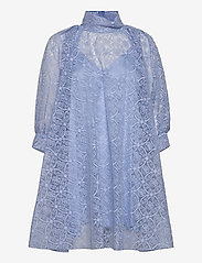 Custommade - Lican BY NBS - cocktailklänningar - powder blue - 0