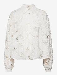 Custommade - Betsy - långärmade skjortor - whisper white - 0