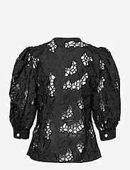 Custommade - Brina - långärmade blusar - anthracite black - 1