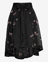 Custommade - Tania - midi kjolar - anthracite black - 2