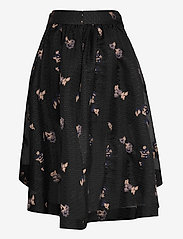 Custommade - Tania - midi kjolar - anthracite black - 3
