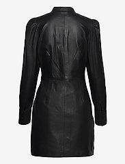 Custommade - Loulou - skjortklänningar - anthracite black - 1