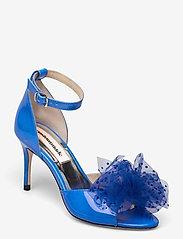 Custommade - Marita Bow - peeptoes - royal blue - 0