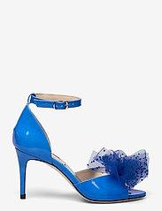Custommade - Marita Bow - peeptoes - royal blue - 1