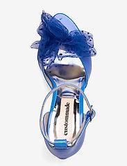 Custommade - Marita Bow - peeptoes - royal blue - 3