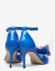 Custommade - Marita Bow - peeptoes - royal blue - 4
