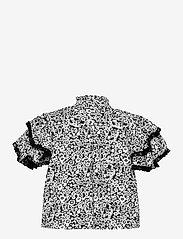 Custommade - Betty - kortærmede bluser - anthracite black - 1