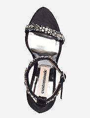 Custommade - Maggie Crystal - högklackade sandaler - anthracite black - 3