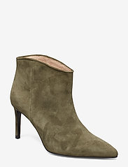 Custommade - Aeja Suede - ankle boots with heel - posy green - 0