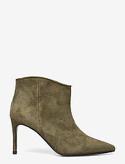 Custommade - Aeja Suede - ankle boots with heel - posy green - 1