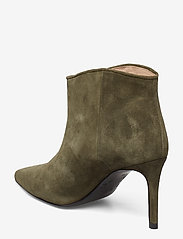 Custommade - Aeja Suede - ankle boots with heel - posy green - 2