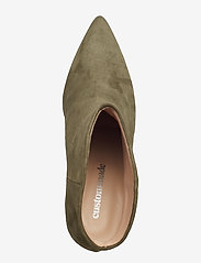 Custommade - Aeja Suede - ankle boots with heel - posy green - 3