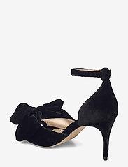 Custommade - Marita Velvet - sandalen met hak - anthracite black - 2
