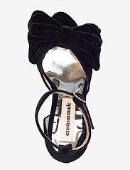 Custommade - Marita Velvet - sandalen met hak - anthracite black - 3