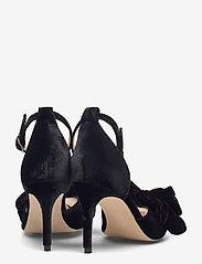 Custommade - Marita Velvet - sandalen met hak - anthracite black - 4