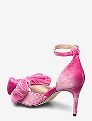 Custommade - Marita Velvet - sandalen met hak - fuchsia pink - 2